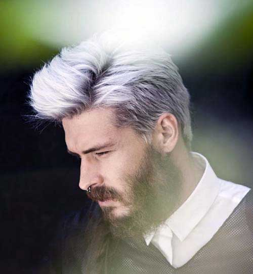 cabelo platinado masculino