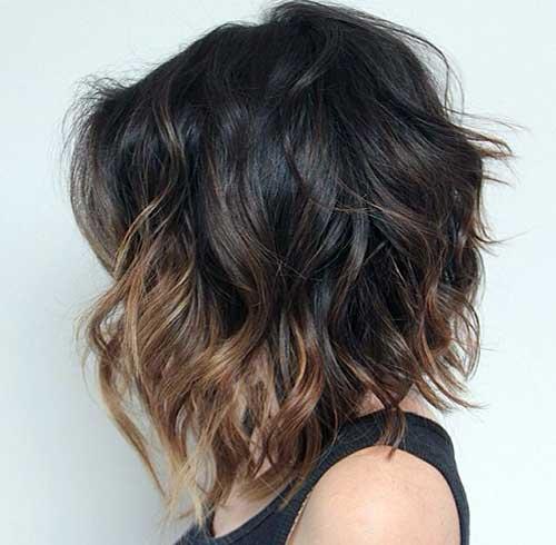 foto do tumblr de mecha ombre hair
