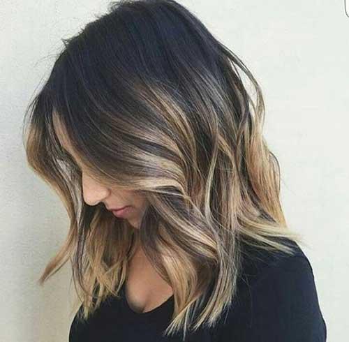 ombre hair especial em cabelo curto
