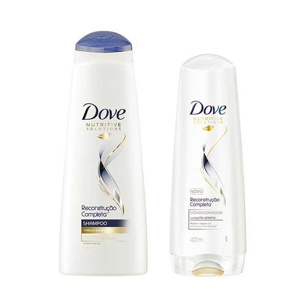 shampoo dove reconstruçao completa