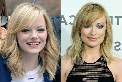 penteado pra diferente tipo de rosto