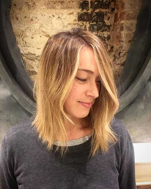 cabelo loiro texturizado repicado