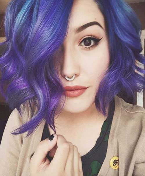 41 Cabelos Roxos Lindos + Tutorial Pra Pintar Sem Tinta! - Hair Beauty