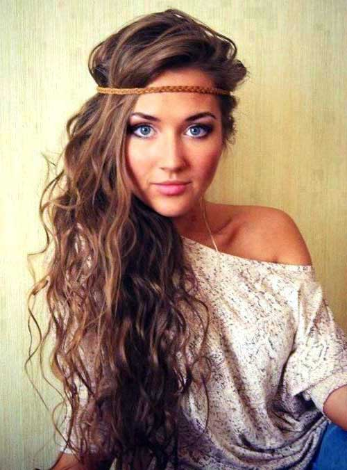 cabelo hippie solto especial