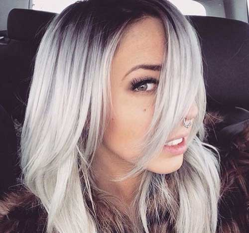 cabelos lindos platinados