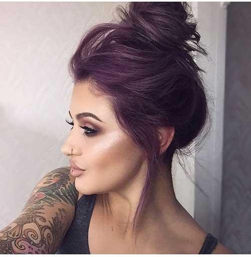 top 40 cabelos roxos dicas para pintar sozinha e fotos da cor. Black Bedroom Furniture Sets. Home Design Ideas