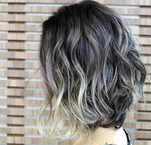 cabelo cinza e platina loiro