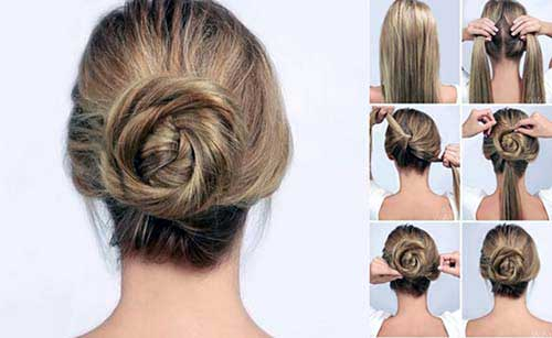 penteados passo a passo fácil de fazer