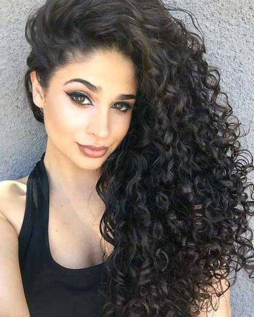cabelo cacheado longo e lindo