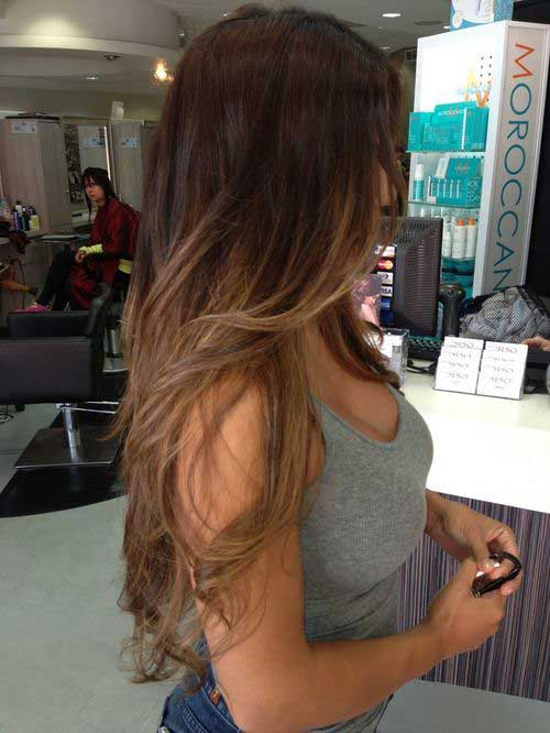 cabelo com iluminacao da california