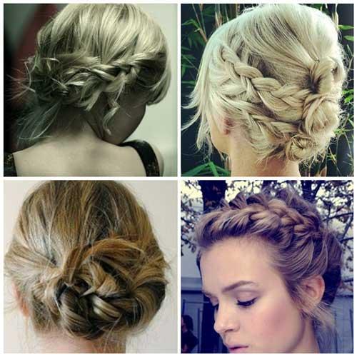 cabelos curtos simples