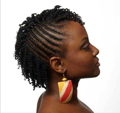 cabelo curto africano