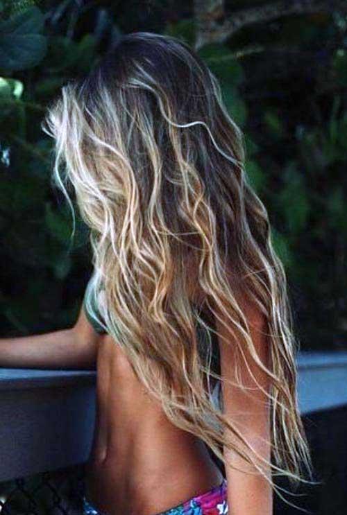 cabelos beijados pelo fogo