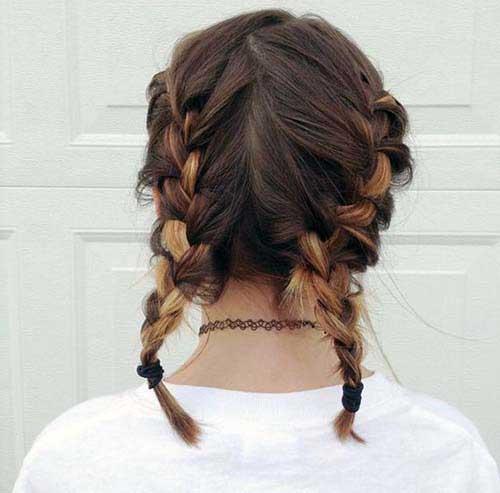 tranca embutida em cabelo curtinho