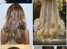 cabelos especiais iluminados
