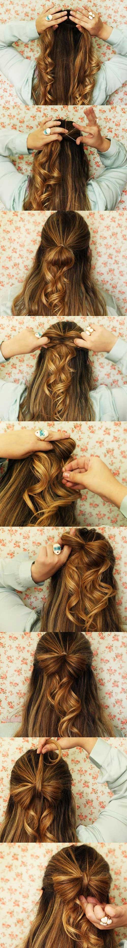 lacinho de cabelo como fazer