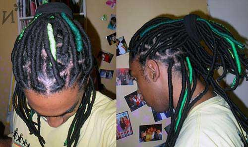 cabelo de la verde