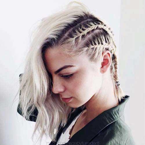 cabelo liso com box braid