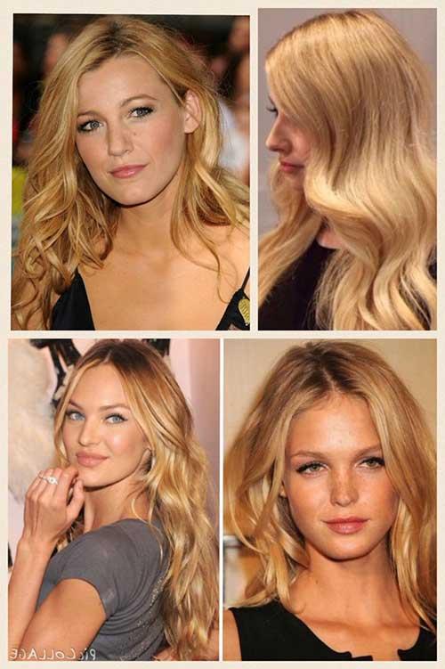 imagem de cabelo loiro dourado perfeito