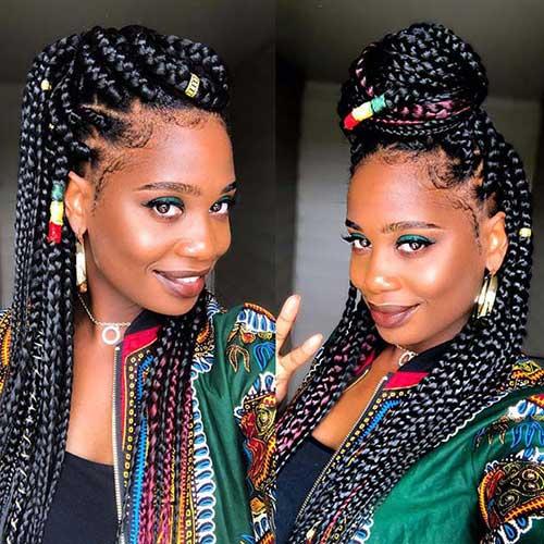 36 Tranças Africanas Estilos Bonitos Dicas Pra Cuidar