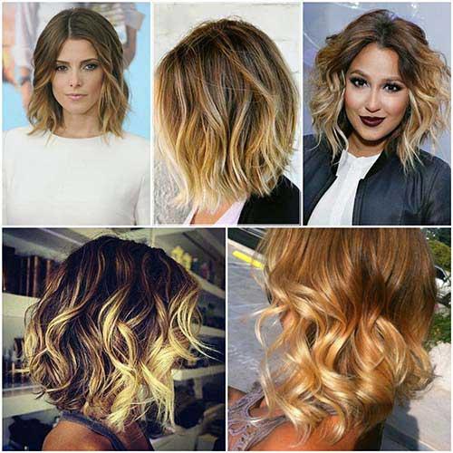 imagens e fotos de cabelo curto com luz e mecha