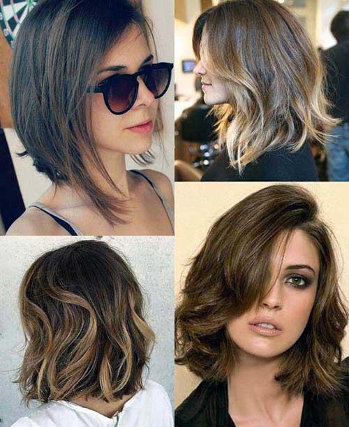 cabelo curto iluminado com progressiva