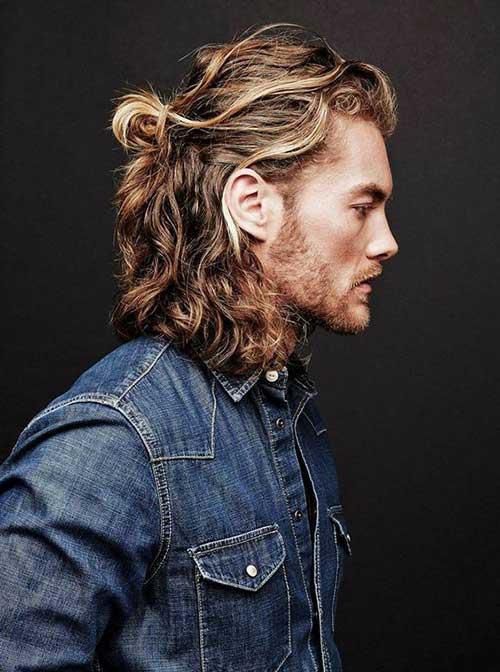 cabelo curto masculino com luzes