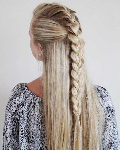 penteado especial lindo com trancas