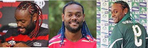jogador de futebol que usa trancas africanas