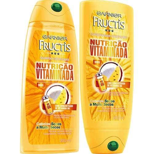 shampoo amarelo garnier