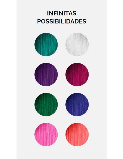 imagem da paleta colorful hair