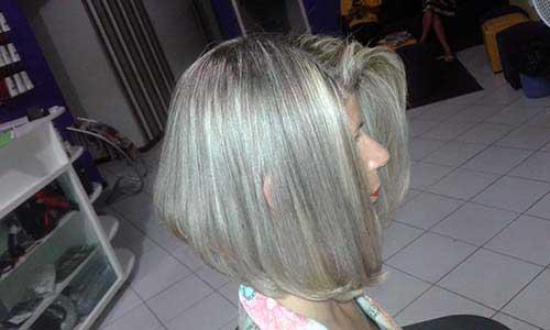 cabelos loiro perolados