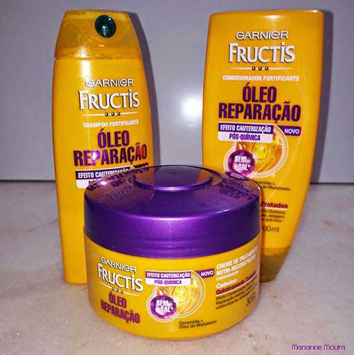 xampu oleo reparador para cabelos especiais