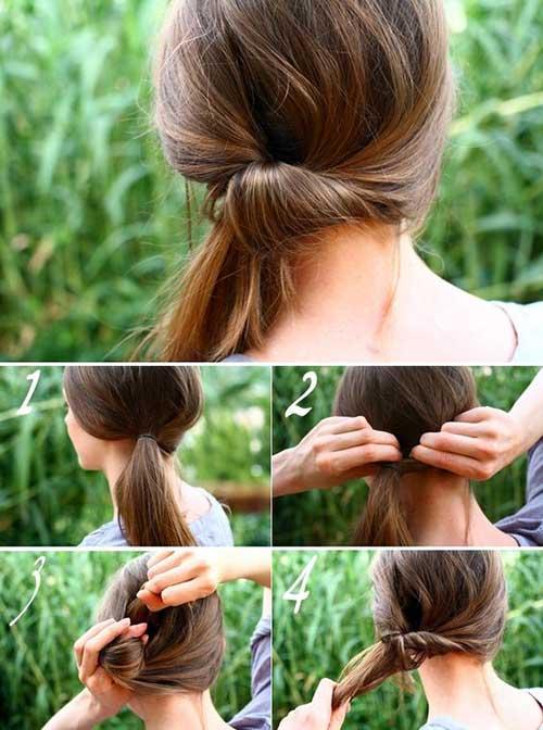 passo-a-passo pra cabelo preso
