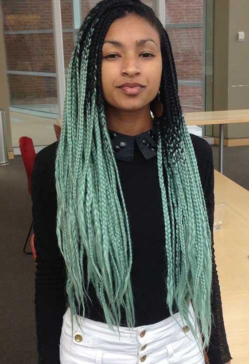 africana preta e verde
