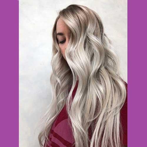 banho de brilho no cabelo loiro com Richesse