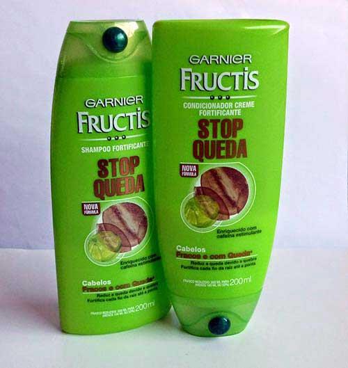 shampoo pra queda de cabelo