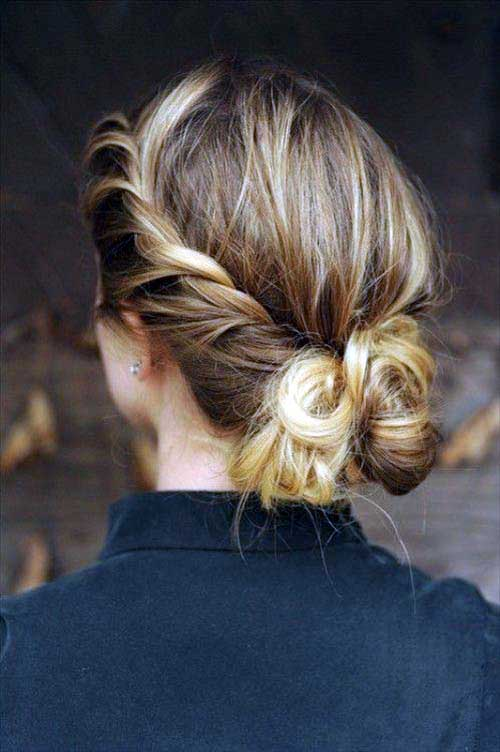 penteado grego preso
