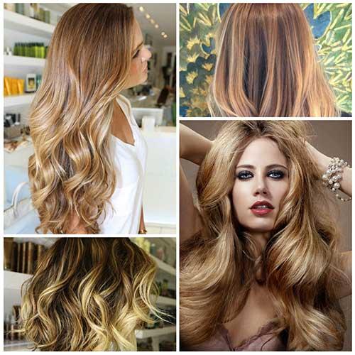 foto de cabelo loiro cor de ouro bonita