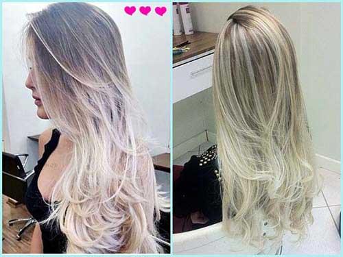 top 30 cabelos   luzes platinadas fotos passo a passo