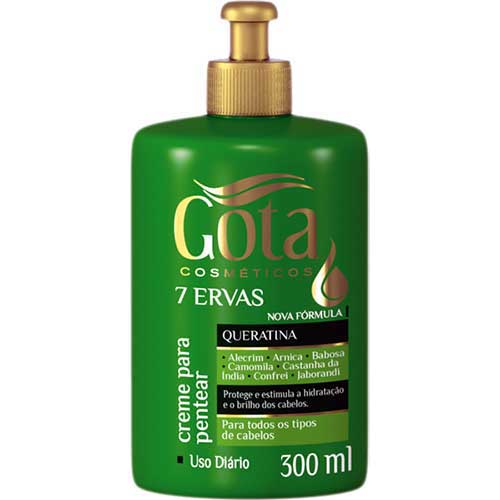 shampoo 7 ervas gota dourada