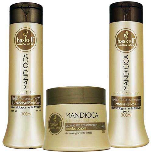 shampoo de mandioca bom