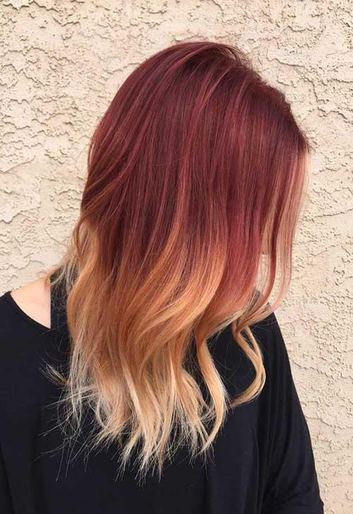 33 cabelos avermelhados veja fotos e passo a passo da cor. Black Bedroom Furniture Sets. Home Design Ideas