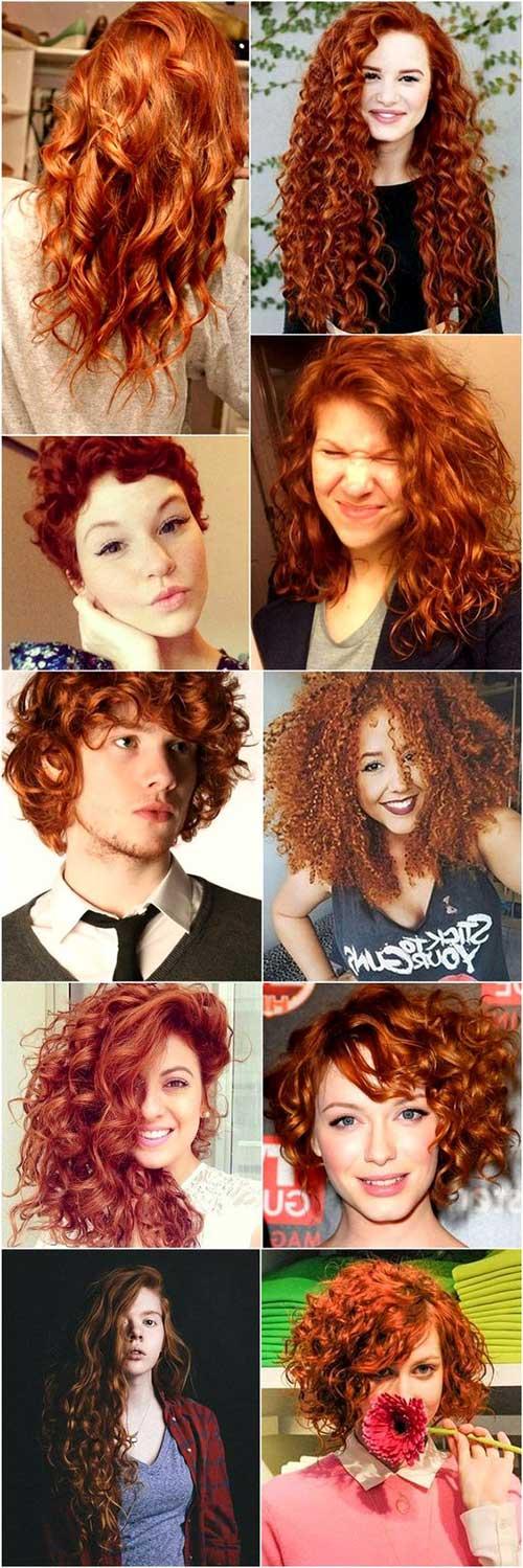 fotos e imagens de cabelos avermelhados