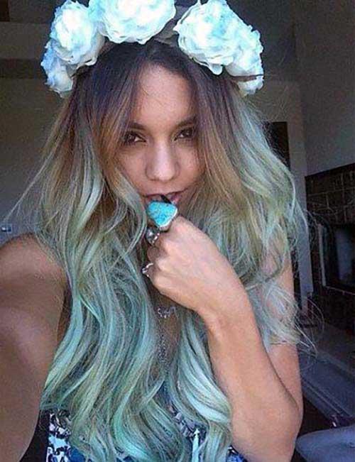 tonalidade azul turquesa