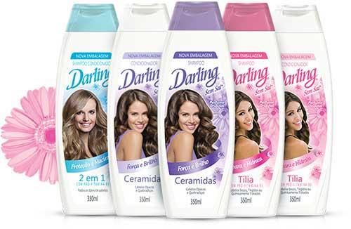 shampoo darling de todas as cores