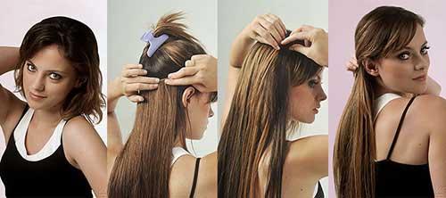 cabelo curto aplique