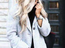 cabelos com luzes brancas quase loiras