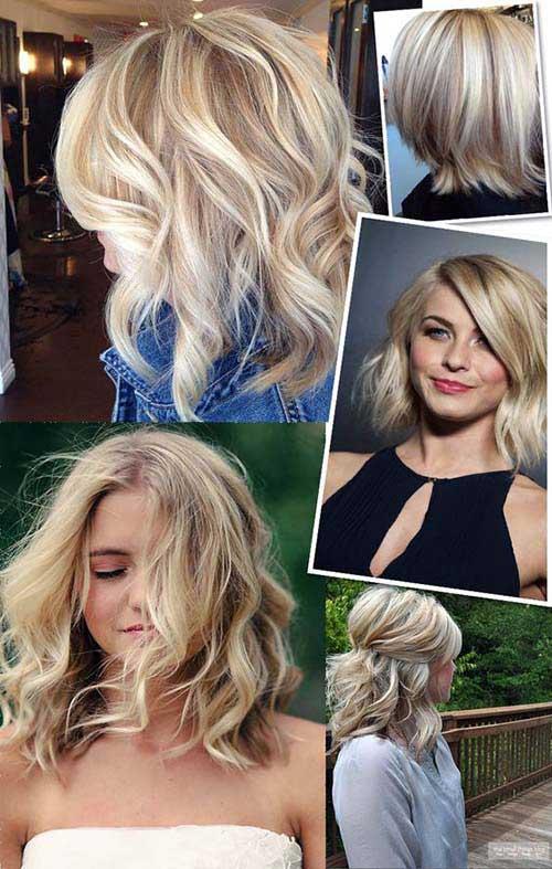 cabelos com luzes platinadas