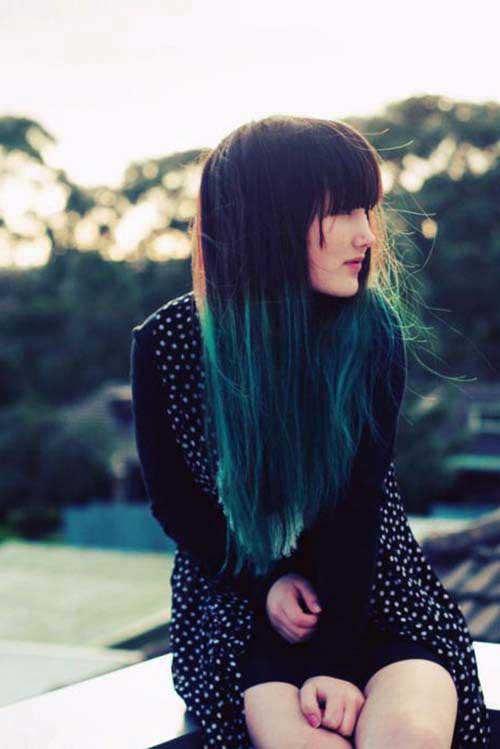 cabelos com mechas californianas
